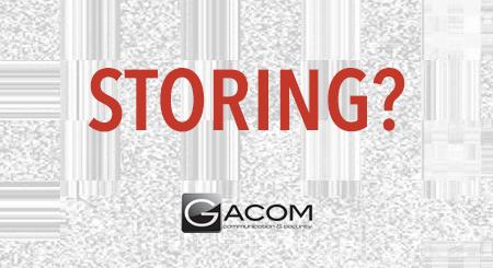 Gacom storing