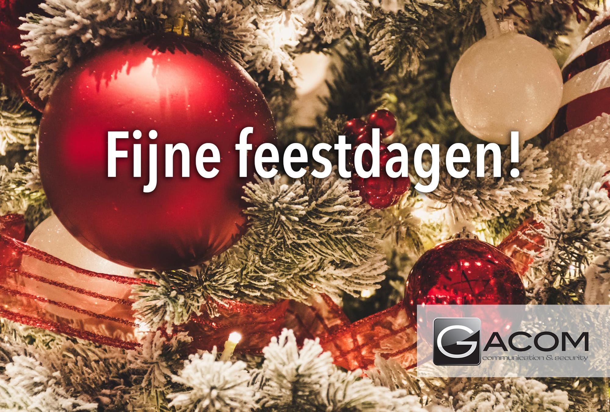 Gacom_ Fijne feestdagen